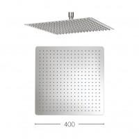 STAINLESS STEEL ROUND SHOWER HEAD 400MM*2MM (THIN)