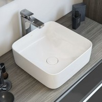 310×310×125mm Above Counter Basin