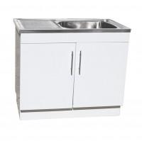 1000mm x 570mm x 870mm Laundry Tub