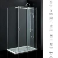 Acqua L Shape Frameless Sliding door Shower Screen