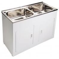 90Litre 1160mm x 500mm x 870mm Laundry Tub