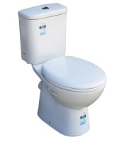 Solar -P trap Close Coupled Toilet